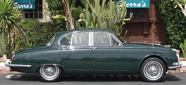 an exceptional 1965 jaguar s-type!
